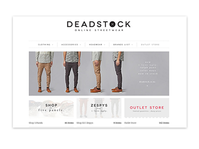 deadstock mens wear