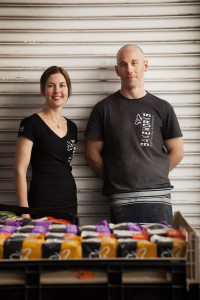 Bakeworks founders - Kirsten and Dave