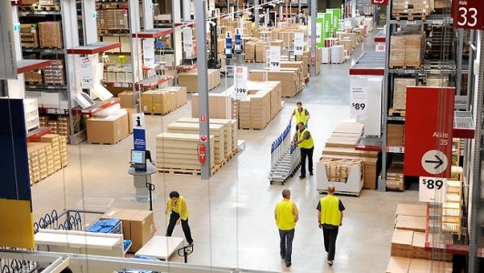 ikea inventory management warehouse