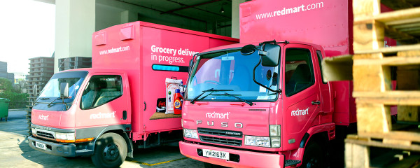RedMart logistics fleet