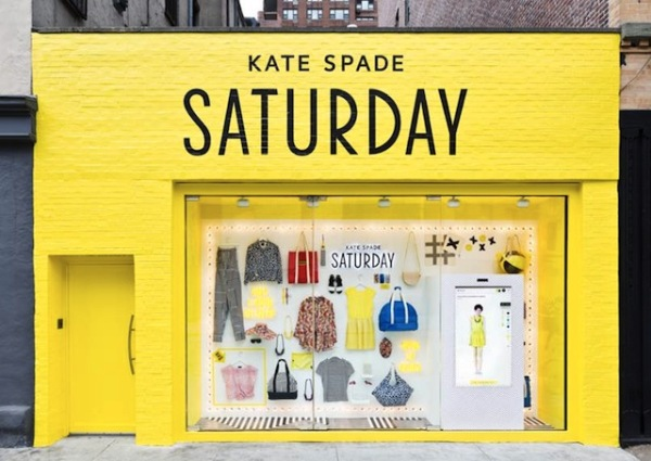 kate spade saturday pop up store