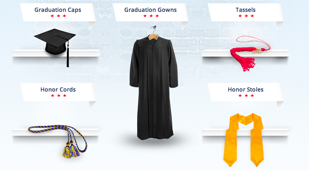 Caps & Gowns graduation ceremony outfit essentials