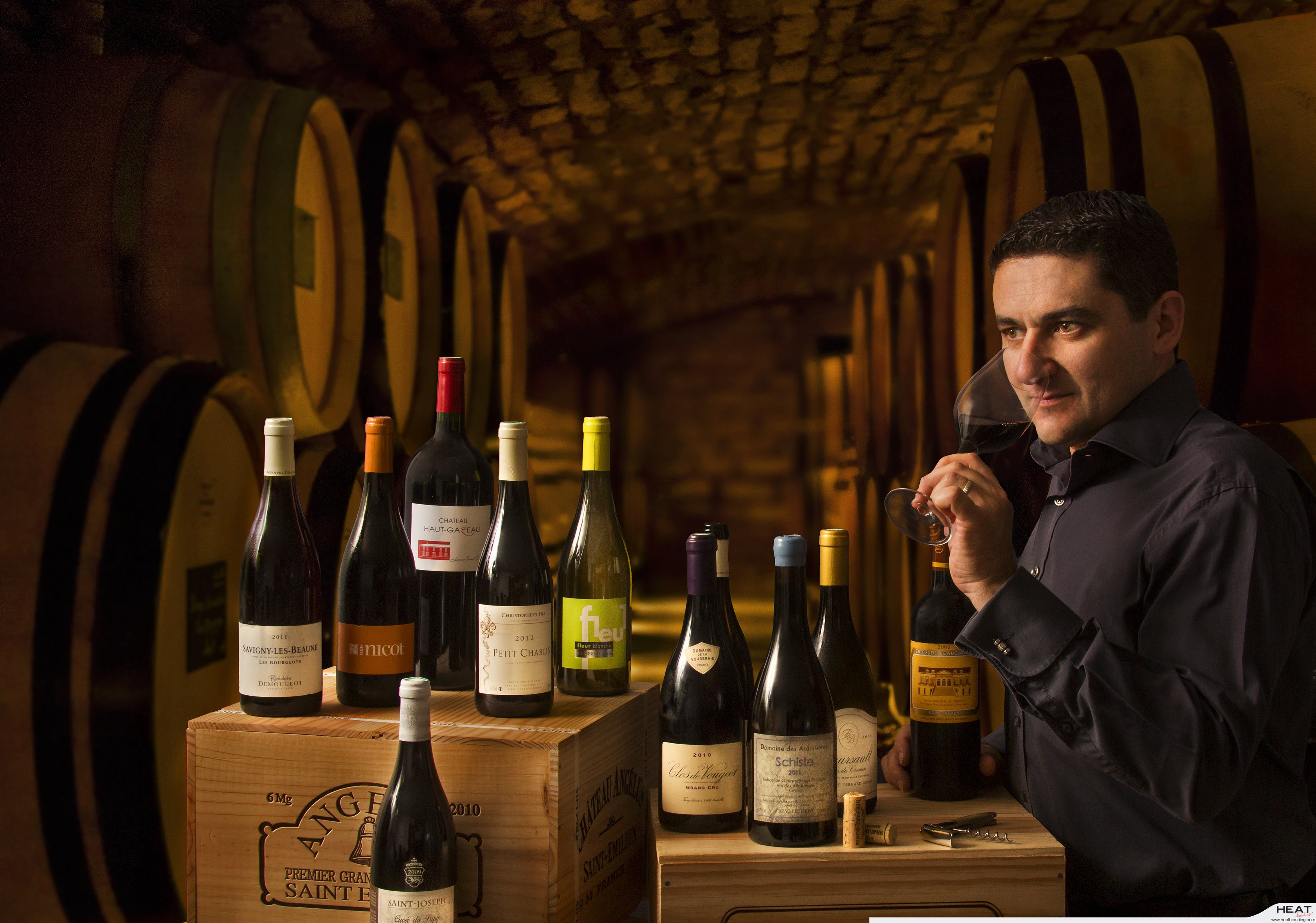 French Wine cellar - The subscription economy