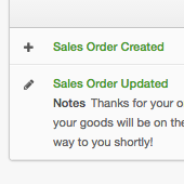 Manage Orders and Sales