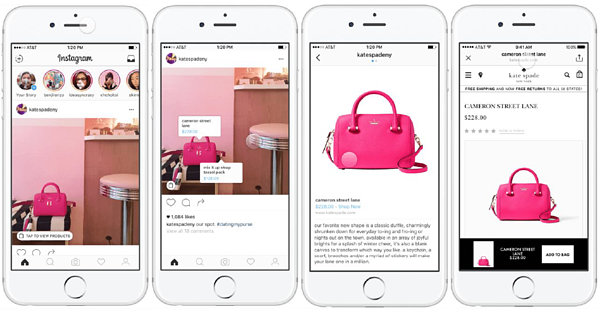 Shopping on Instagram is showing promise but requires multiple steps to purchase