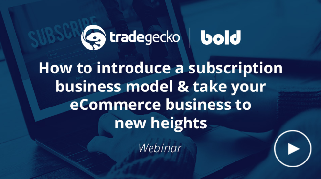 Bold Commerce Webinar