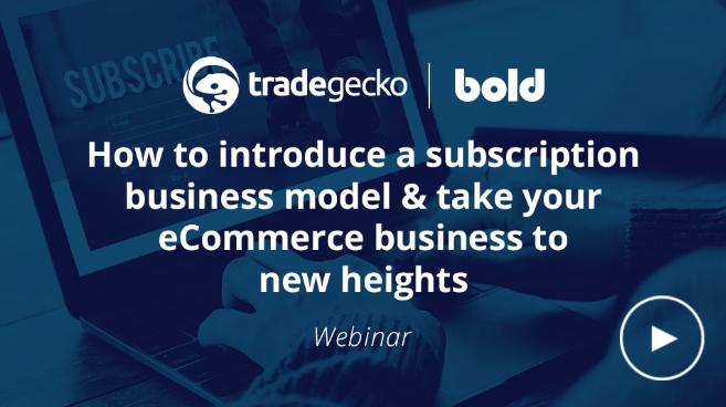 Bold Commerce Webinar