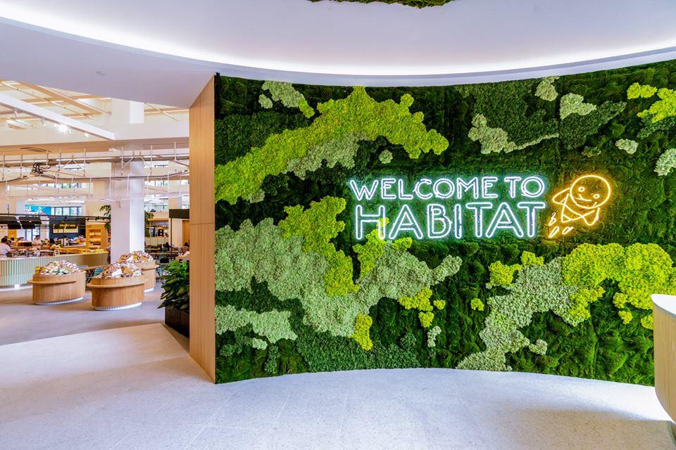 Habitat-entrance