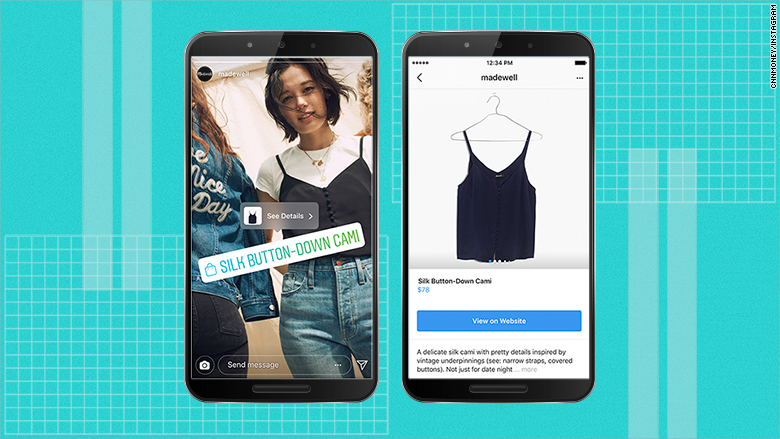 Instagram Shoppable Stories
