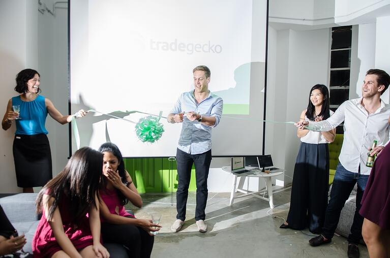 TradeGecko Office Party