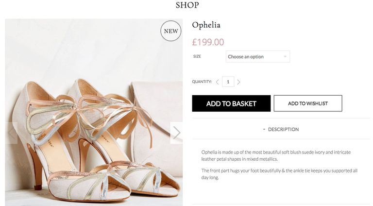 Product Description: Rachel Simpson Ophelia Shoes