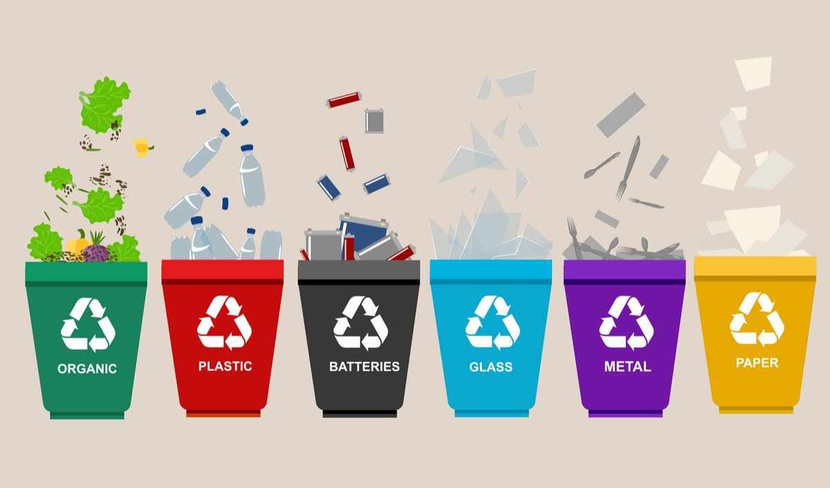 Recycle Reuse Raw Materials