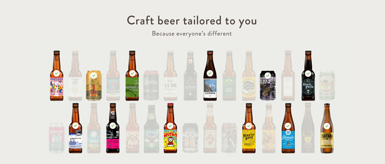 Honest brew subscription service
