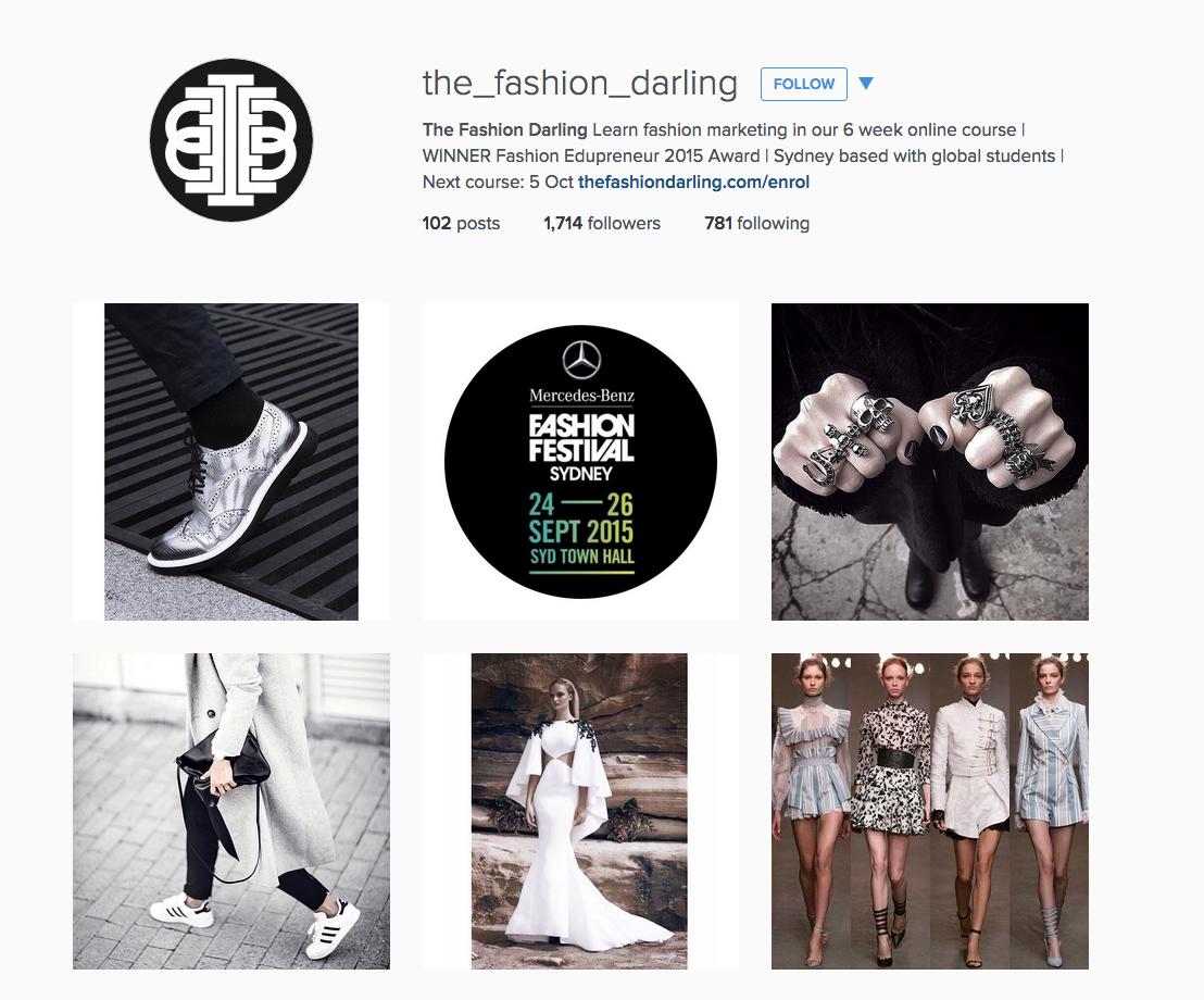 The Fashion Darling & TradeGecko