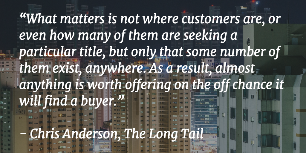 Everything will find a buyer