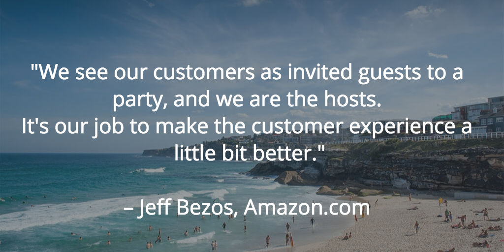 Quote from Jeff Bezos Amazon.com