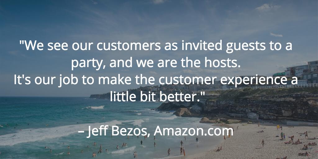Quote from Jeff Bezos Amazon.com