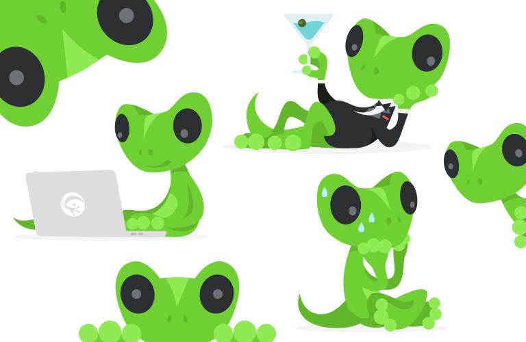 Moko TradeGecko Mascot
