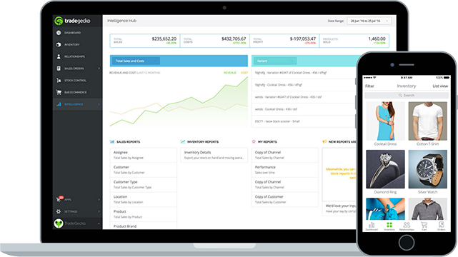The TG Web and mobile Apps aid growth by simplifying daily tasks