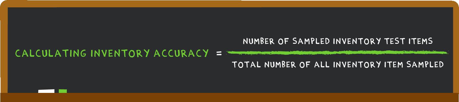 inventory accuracy formula