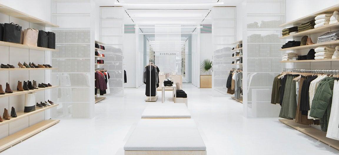 Everlane clothing stores