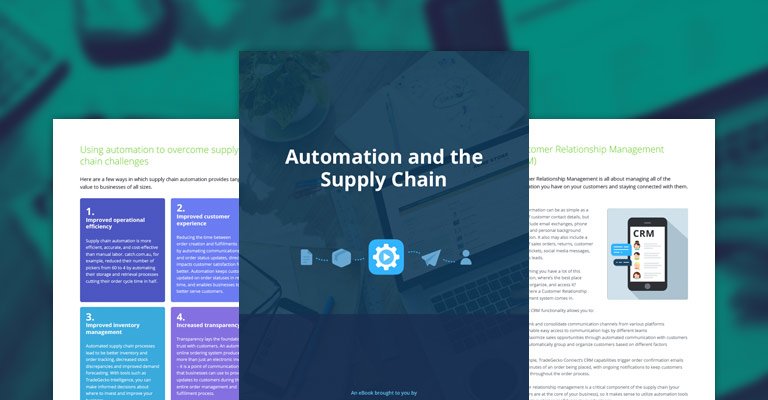 Automation and the Supply Chain