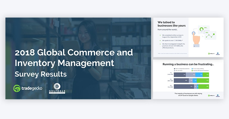 2018 Global Commerce and Inventory Management Survey Results