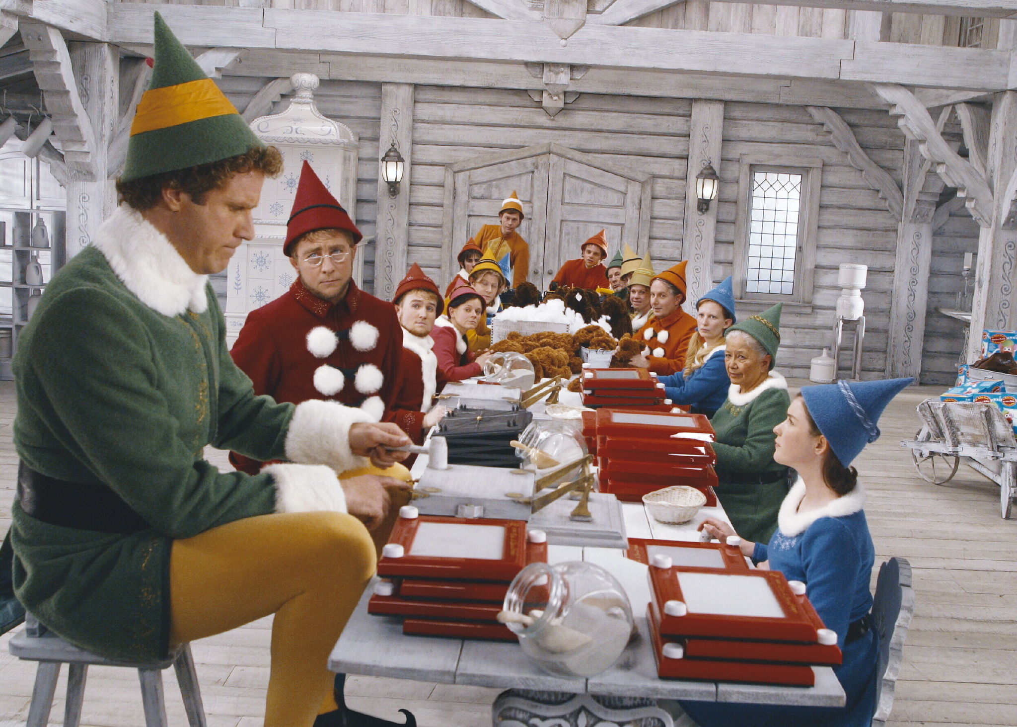 how does santa manage inventory?