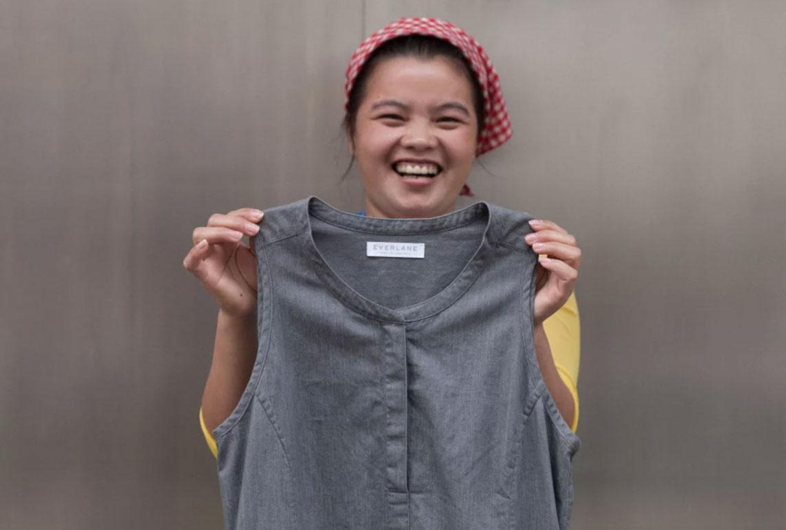 Everlane ethical clothing