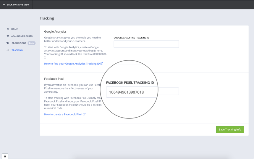Facebook Analytics Plugin by TradeGecko