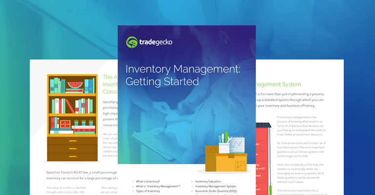 Tradegecko ebook inventory management getting started inventory valuation and reorder points sound like things you need more of in your business life they are this ebook will be the perfect starter fandeluxe Choice Image