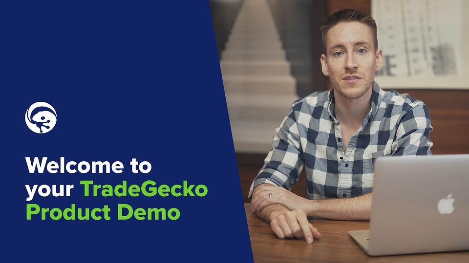 Welcome to your TradeGecko Product Demo