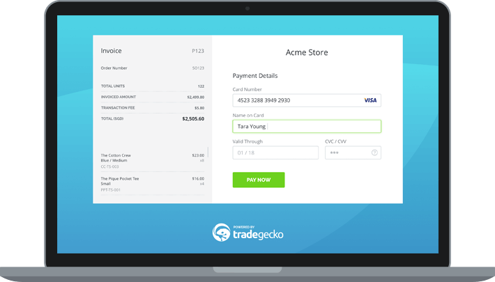 TradeGecko Payments