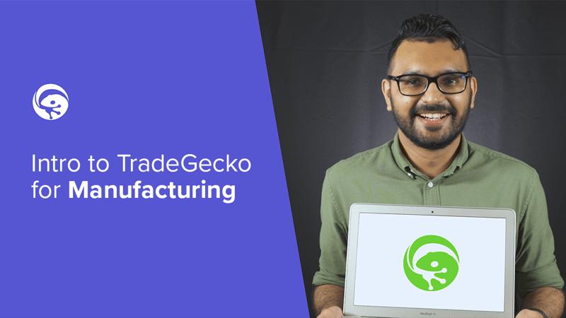 TradeGecko Manufacturing