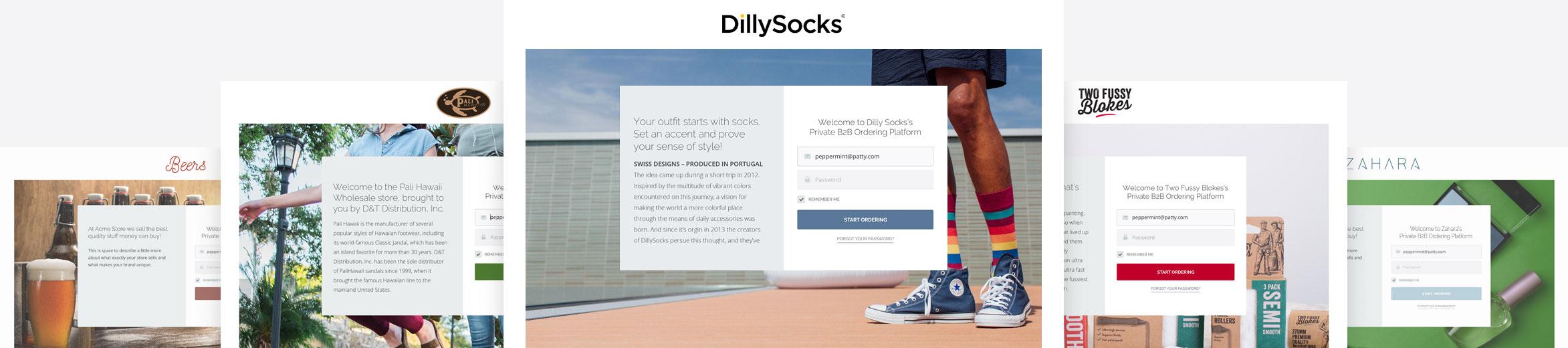 B2B eCommerce Store Customized Design