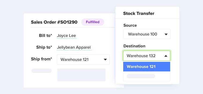 TradeGecko Warehouse Management Features