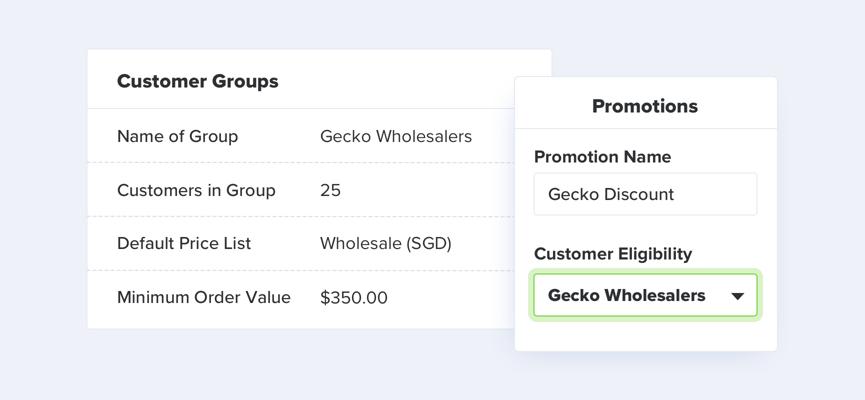 TradeGecko Wholesale Features