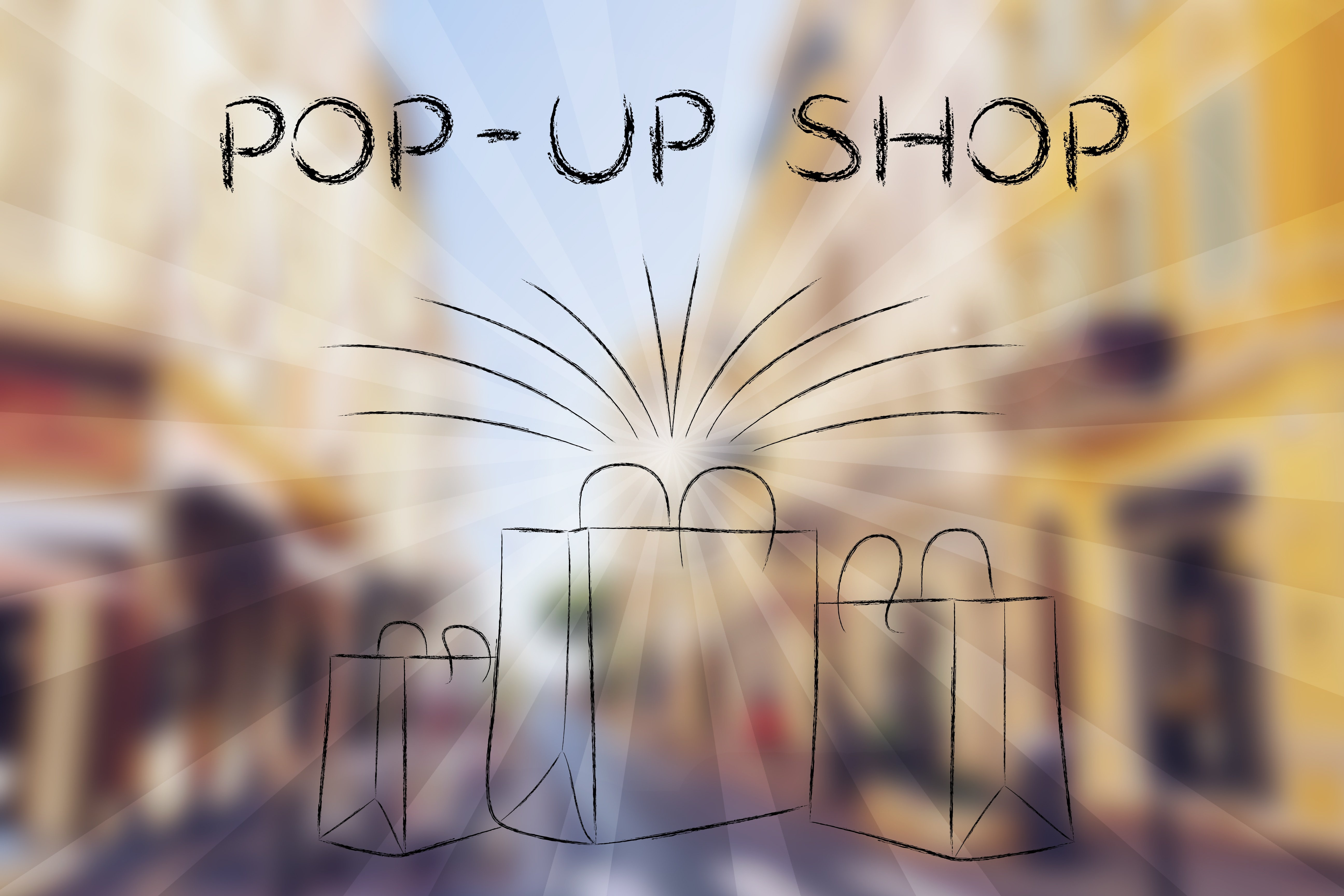 pop up shops and other offline events