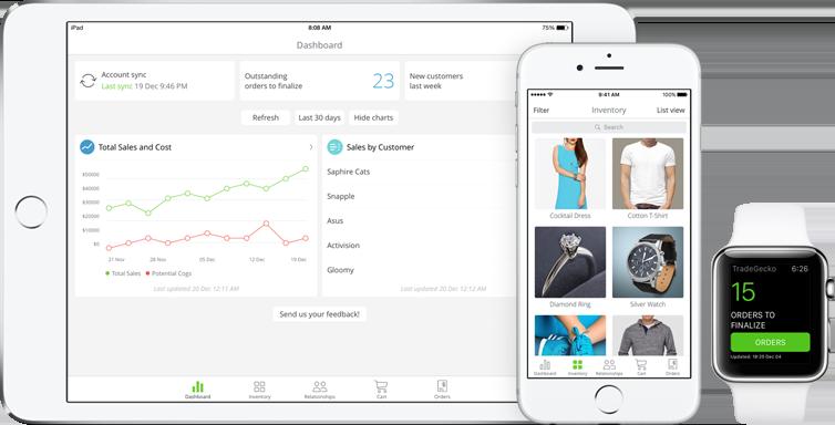 TradeGecko for Sale iOS app