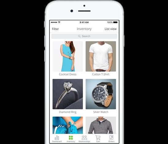 Inventory Management App for iOS | Mobile Catalog