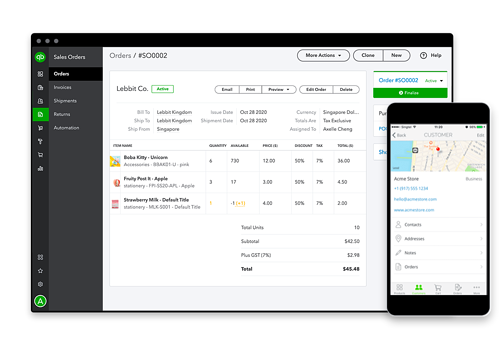 Advanced inventory and order management