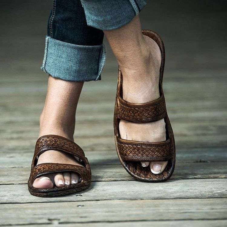 Classic Brown Jesus Sandal