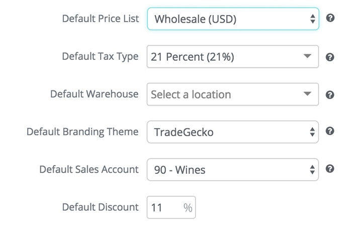 wholesale inventory management: set a special price list for each customer
