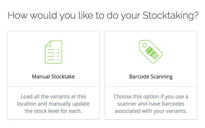 Stocktake Tool: Count your batch tracked inventory