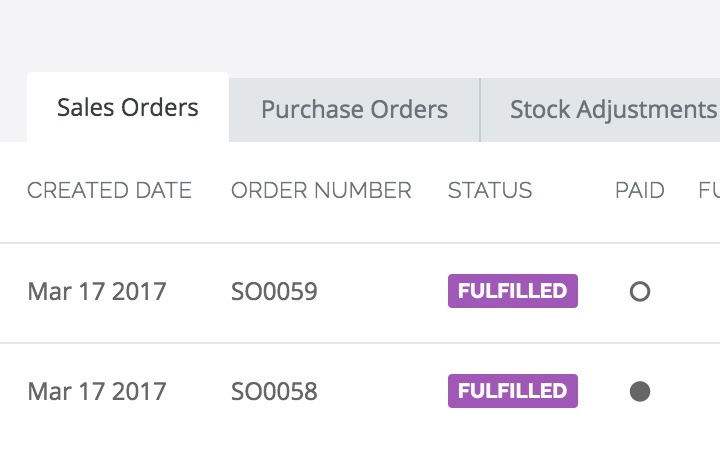 Manage your product recall process: Screenshot of the platform
