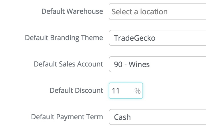 crm inventory management features: automate default discounts for every customer