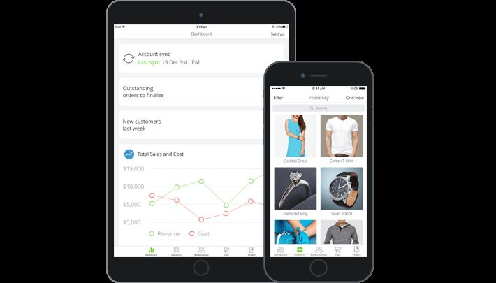 TradeGecko Mobile Sales App