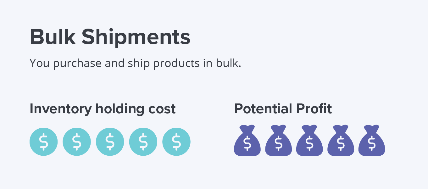 bulk shipments pros and cons