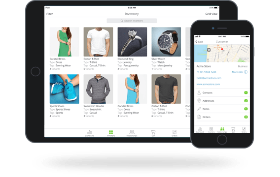 TradeGecko Mobile inventory and sales app