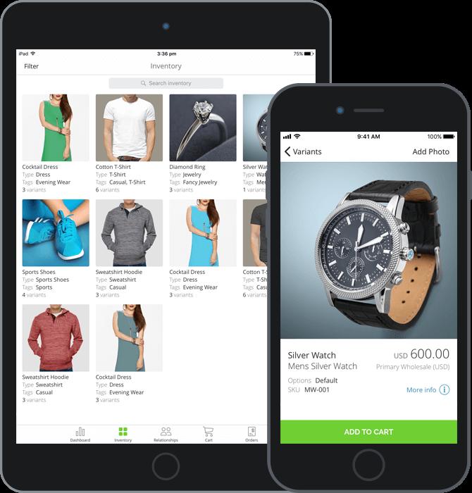 TradeGecko Mobile inventory and sales app iPhone iPad